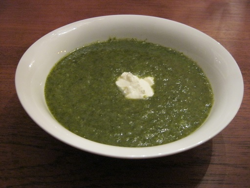 Thank You Tracy and Barbara, Great Green Soup is a Delectable Winner