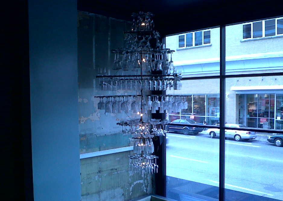 Pullman chandelier
