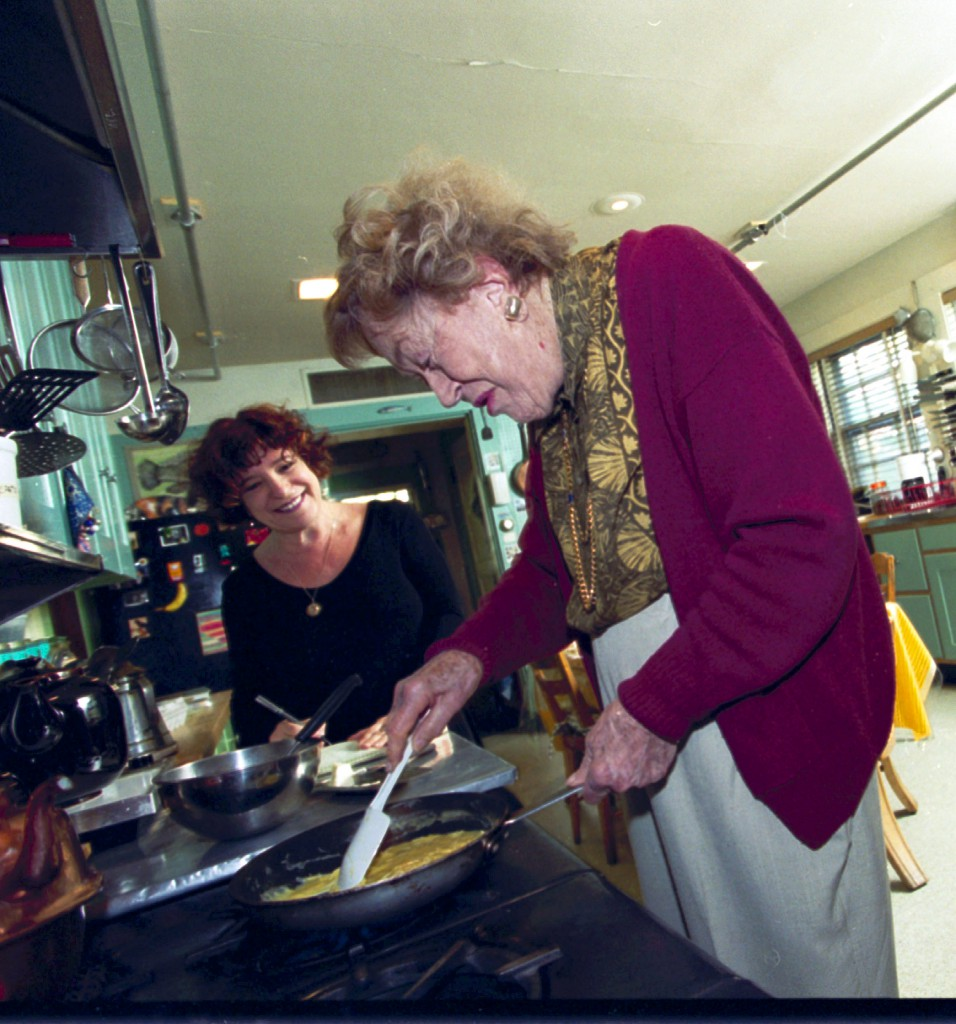 Julia Child Cooks me Scrambled Eggs for Breakfast and I Hijack a Bag of Buns