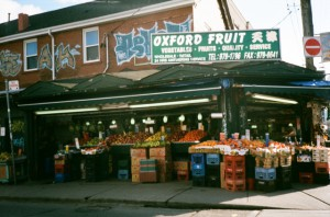 This is one of the surviving greengrocers in Kensington Market