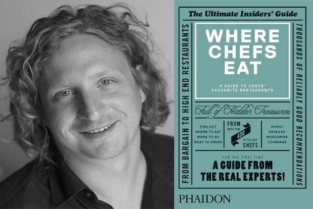 Joe Warwick and his book: Where Chefs Eat