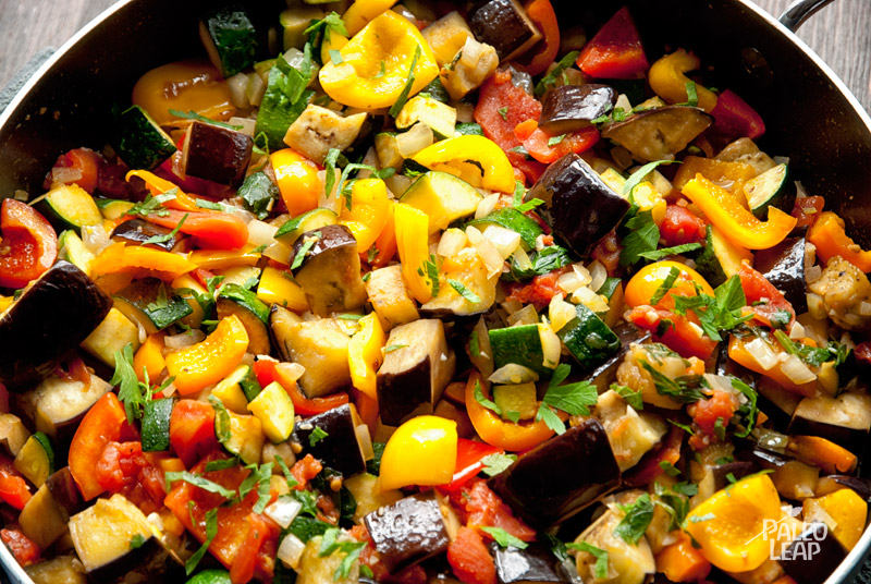Ratatouille: A Colourful Mélange of  Vegetables That's Wondrous Made My Way