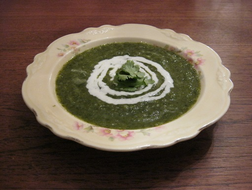 great green soup