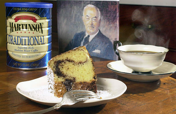 Martinson coffee and sour cream coffee cake