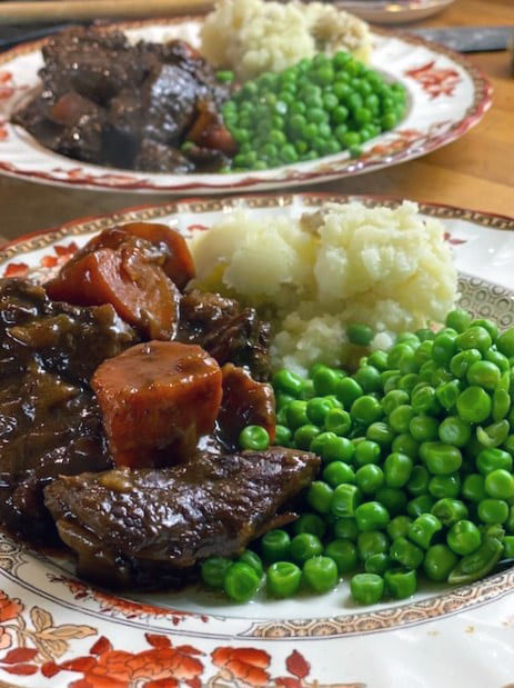 Beef Stew with Prunes and Apricots