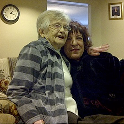Evelyn and Marion